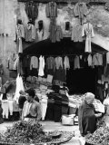 Market in Viterbo Photographic Print