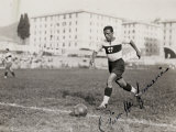 Portrait of a Player on the Genova Soccer Team During a Play Photographic Print