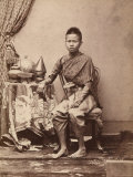 Portrait of the Prince of Siam Photographic Print
