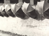 Umbrellas Photographic Print