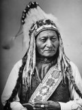 Portrait of an Indian Chief Photographic Print