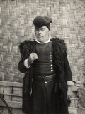 Man in the Traditional Dress of the City of Sant'Antioco, Sardinia Photographic Print