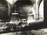 The Image Showes Reims Cathedral's Bells Fallen after the German Bombardments and Fires Photographic Print