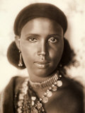 Portrait of a Somali Woman Photograph Commissioned by the Societa Agricola Italo Somala Photographic Print