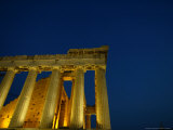 The Ancient Parthenon Temple on the Acropolis Hill Photographic Print