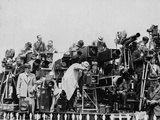 Press and Newsreel Long-Focus Cameras are Trained on the Royal Box at Ascot Photographic Print