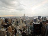 The Empire State Building Dominates the New York Skyline Photographic Print