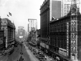 Looking Toward the North from 42nd Street Photographic Print