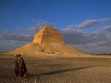 Pyramid, Medium, Sneferu, Old Kingdom, Egypt Photographic Print by Kenneth Garrett