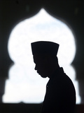 An Acehnese Man Says Ramadan Prayers Photographic Print