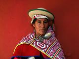 A Bolivian Kallawaya Photographic Print