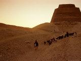 Pyramid of Meidum, Old Kingdom, Egypt Photographic Print by Kenneth Garrett