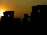 The Summer Solstice Dawn at Stonehenge Photographic Print
