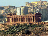 The Ancient Greek Temple of Juno Photographic Print