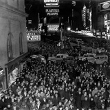 Times Square During the New Year's Eve Celebration Photographic Print