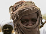 A Sudan Liberation Army, Sla, Fighter from the Faction of Abdelwahid Elnur Photographic Print