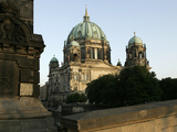 The Evening Sun Hits the Berlin Dome Photographic Print