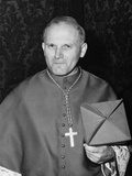Karol Cardinal Wojtyla, Archbishop of Krakow, Poland, Photographic Print