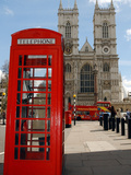 A British Telecom Red Phone Box Photographic Print