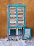 Nubian Window in a Village Across the Nile from Luxor, Egypt Photographic Print by Tom Haseltine