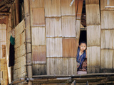An Ethnic Karen Boy Photographic Print