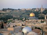 Old City, Jerusalem, Israel Photographic Print by Nik Wheeler