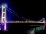 Tsing Ma Bridge, Hong Kong, China Photographic Print by Russell Gordon