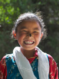 Young Tibetan Girl, Tibet, China Photographic Print by Keren Su