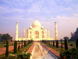 Taj Mahal, Agra, India Photographic Print by Bill Bachmann