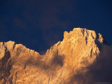 Chomolonzo Summit at Sunrise, Tibet Photographic Print by Vassi Koutsaftis