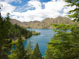 Lake Benmore, Waitaki Valley, North Otago, South Island, New Zealand Photographic Print by David Wall