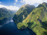 Hall Arm, Doubtful Sound, Fjordland National Park, South Island, New Zealand Photographic Print by David Wall