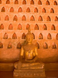 Buddha Images at Wat Si Saket, Vientiane, Laos Photographic Print by Gavriel Jecan