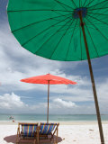 Beach and Tourists, Samed Island, Rayong, Thailand Photographic Print by Gavriel Jecan