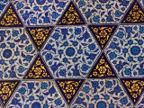 Tile Inside Topkapi Palace, Istanbul, Turkey Photographic Print by Joe Restuccia III