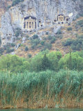 Rock Tombs of Caunos, Dalyan, Turkey Photographic Print by Ali Kabas