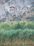 Rock Tombs of Caunos, Dalyan, Turkey Photographic Print by Ali Kabas