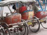 Bicycle Taxi, Khon Kaen, Thailand Reprodukcja zdjęcia autor Gavriel Jecan