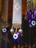Evil Eye Souvenirs Outside Virgin Mary House, Turkey Photographic Print by Joe Restuccia III