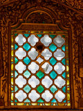 Stained Glass Window in Merlana Museum, Konya City, Turkey Photographic Print by Joe Restuccia III