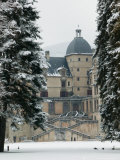 Chateau de Vizille Park after Winter Storm, Vizille, Isere, French Alps, France Photographic Print by Walter Bibikow
