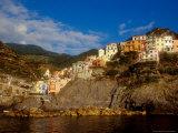View of Manarola, Cinque Terre, Italy Photographic Print by Alison Jones