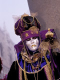 Traditional Costumes, Carnival, Venice, Italy Photographic Print by Sergio Pitamitz