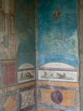 Painted Frescoes, Pompei, Campania, Italy Photographic Print by Walter Bibikow