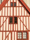Au Moulin au Vent Restaurant, Place Francois Rude, Dijon, Cote D'Or, Burgundy, France Photographic Print by Walter Bibikow
