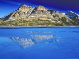 Vimy Peak Reflects into Waterton Lake, Wateron Lakes National Park, Alberta, Canada Photographic Print by Chuck Haney