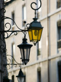Street Lamps in Old Town, Annecy, French Alps, Savoie, Chambery, France Photographic Print by Walter Bibikow