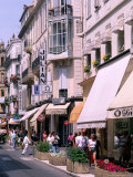 Shopping Scenic, Cannes, France Photographic Print by Bill Bachmann