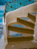 Curved Stairway in Athens, Greece Photographic Print by Tom Haseltine