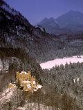 Hohenschwangau Castle, Schwangau, Bayern, Germany Photographic Print by Walter Bibikow